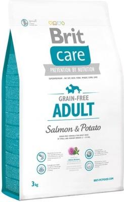 Brit CARE Grain-Free Adult Salmon & Potato 3кг