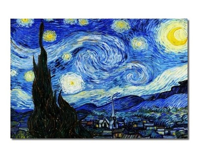 КАРТИНА Винсент ван Гог Звездная ночь картина