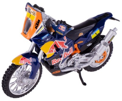 KTM 450 RALLY DAKAR, RED BULL, МОДЕЛЬ Bburago 1 :18