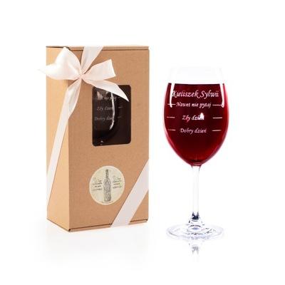 Kieliszki do wina z GRAWER Kieliszek prezent 18 40