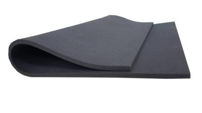 Пена губка pur ПЛИТЫ 200x120x1 см - T2542 черная