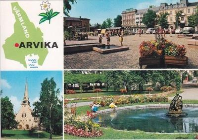 Швеция - ARVIKA - VARMLAND - КАРТА