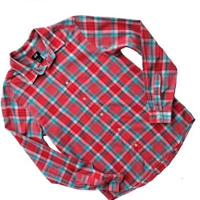 H&M koszula w kolorową kratkę r.ML 7373254664 oficjalne  Fo6vp
