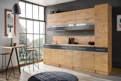 Мебель Кухонные ЭДЕК 2 - ЛАНСЕЛОТ + бетон