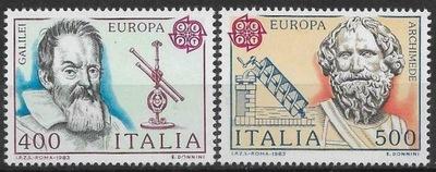 Włochy 1983 Znaczki Mi 1842-3 ** Europa CEPT