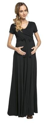 Maxi sukienka ciążowa i do karmienia 599