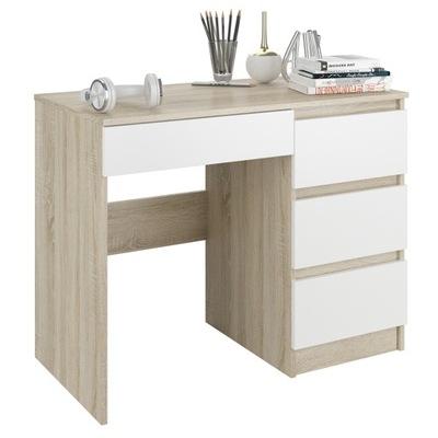 Мебель письменный Стол, компьютер, журнальный столик 90см сонома микс N34