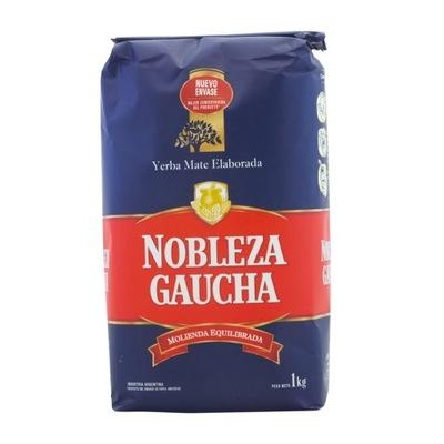 Yerba Mate Nobleza Gaucha Traditional 1kg 1000g