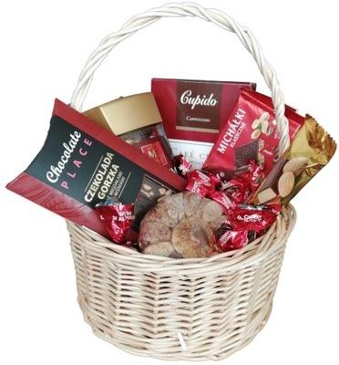 Корзина сладости пакет бизнес благодарность