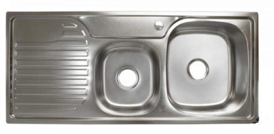 Umývadlo ocele 2-komora krídlo XZ02