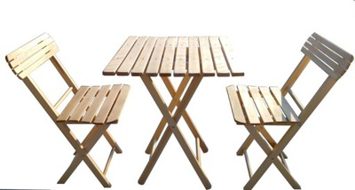 nastavenie pre záhradu, balkón stôl štvorcový 60