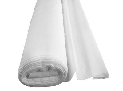 вуаль тюль гладкий шторный с метров Белый 300 см