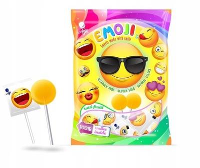 Леденцы Emoji смайлики emotiki леденец 8g x 100 штук