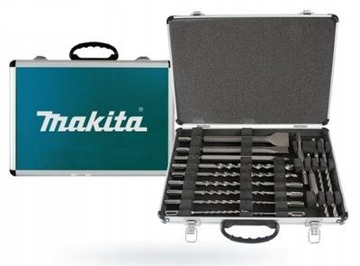 Makita D -42444 комплект Сверл и Зубил SDS+ 17 штук
