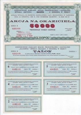 IGLOOPOL действие на 50000  . 1989