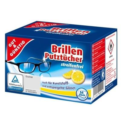 Салфетки ??? очки мокрые 108 штук Немецкие
