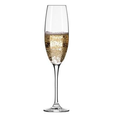 Kieliszki do szampana Elite KROSNO 6 szt 180 ml