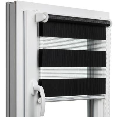 Roleta okienna DZIEŃ-NOC na wymiar z NAPINACZEM