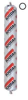 силикон Нейтральный Soudal SILIRUB 2 бесцветный 600мл
