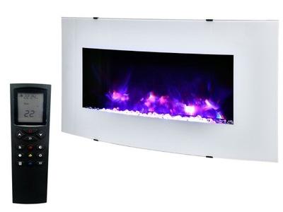 Krb elektrický 1.9 KW, diaľkové ovládanie, LED Podsvietenie