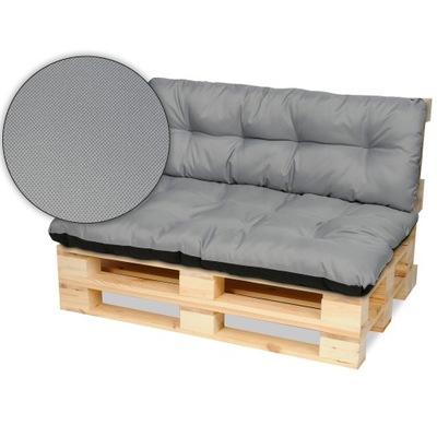 Подушки на мебель из поддонов скамейка 120х80+120x40 сталь