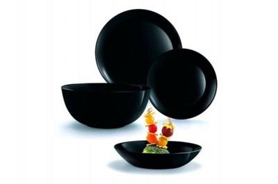 LUMINARC DIWALI столовый сервиз 18el комплект Черный