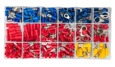 NEO Izolované konektory, koncovky, sada 415 ks
