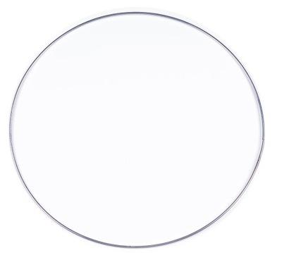 СЕРЕБРИСТЫЙ металлический обруч кольцо для ловец снов 30 см