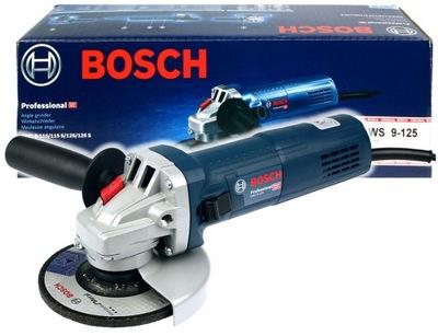 ОРБИТАЛЬНАЯ угловая 900ВТ 125 ??  GWS 9 - ??? двадцать пять Bosch