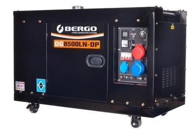 Приводимый в действие генераторная установка DUAL 10 ,6kVA ТИХИЙ BERGO