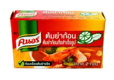 Кубики в Слитках для Тайской кухни Суп Том Ям 24g Кнор