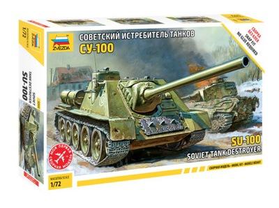 Советский Tank Destroyer SU-100 - Звезда 5044
