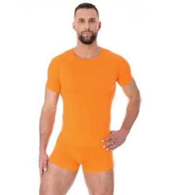475083239052f5 Brubeck Koszulka męska ACTIVE WOOL czerwona L - 7428868181 ...