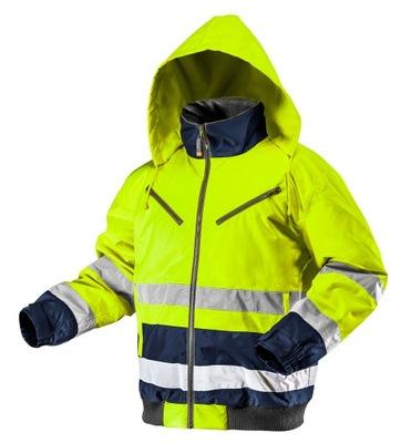 Neo куртка зимняя утепленная предупреждения желтый