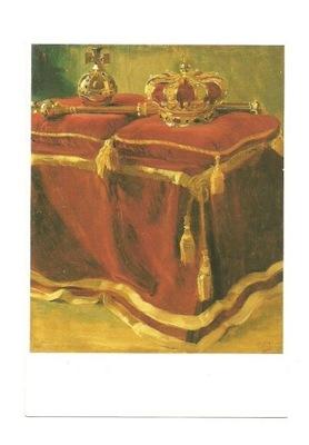 П / я - де Жослен де Йонг, Корона, скипетр и яблоко