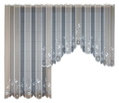 Súbor záclony, balkón záclony žakárové balkón