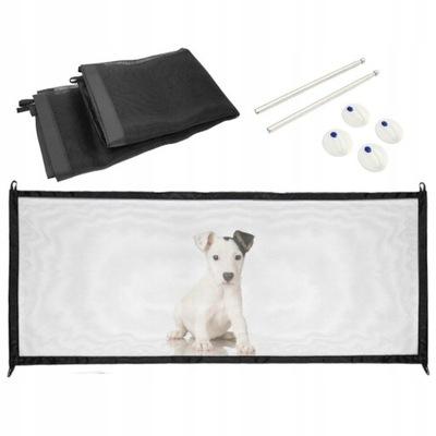 Сетка Защитная для Собак, ВОРОТА Безопасности черная