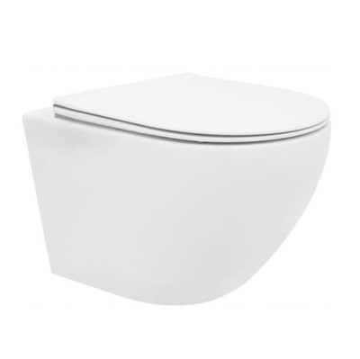 VELDMAN Поддон туалет без оправы крепления ВЕРА + доска SLIM премиум