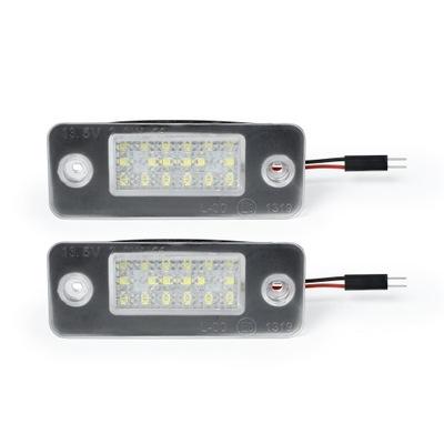 ЛАМПОЧКИ LED (СВЕТОДИОД ) ОСВЕЩЕНИЕ НОМЕРА AUDI A8 D3