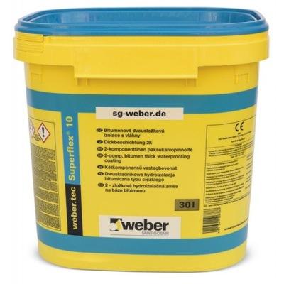 WEBER SUPERFLEX TMEL 10 PK MAČKA. 30L
