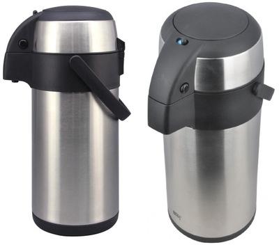 ТЕРМОС для участников СОВЕЩАНИЙ С НАСОСОМ на кофе, чай, воду
