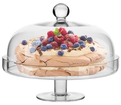 Сервировочная подставка с колпаком Elite  28см торт торт