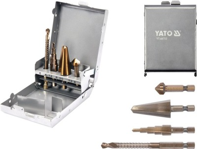 Vrtáky - Vrtáky Výstružník zahĺbenie KIT YATO