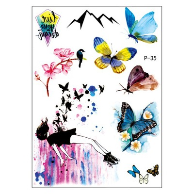 Tatuaże Motyle Niska Cena Na Allegropl