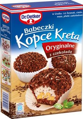 Торт, Кексы Курганы Крит 264g Dr. Oetker