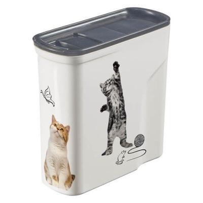 Pojemnik na karmę dla kota CURVER petlife Cats 2L