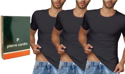3 PACK koszulki PIERRE CARDIN PC100 kr rękaw r M