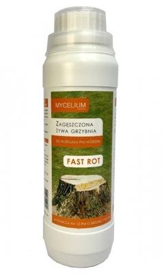 Фаст ROT мицелий ??? удалению пней деревьев ( 10 pni )