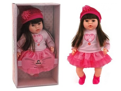 AKO OBÝVACIA bábiku, hovorí, spieva DIEŤA cumlík 2xbutelka