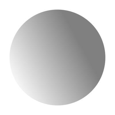 Bezpečné akrylové zrkadlo z plexiskla, okrúhle 40 cm